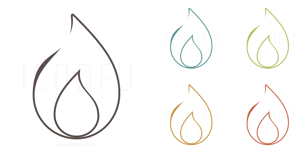 Amazing Flame Icon Keywords: Gas, Candle, Flame, Fire, Burn, Utility, Heat, Hot,  Arson, Flammable, Match