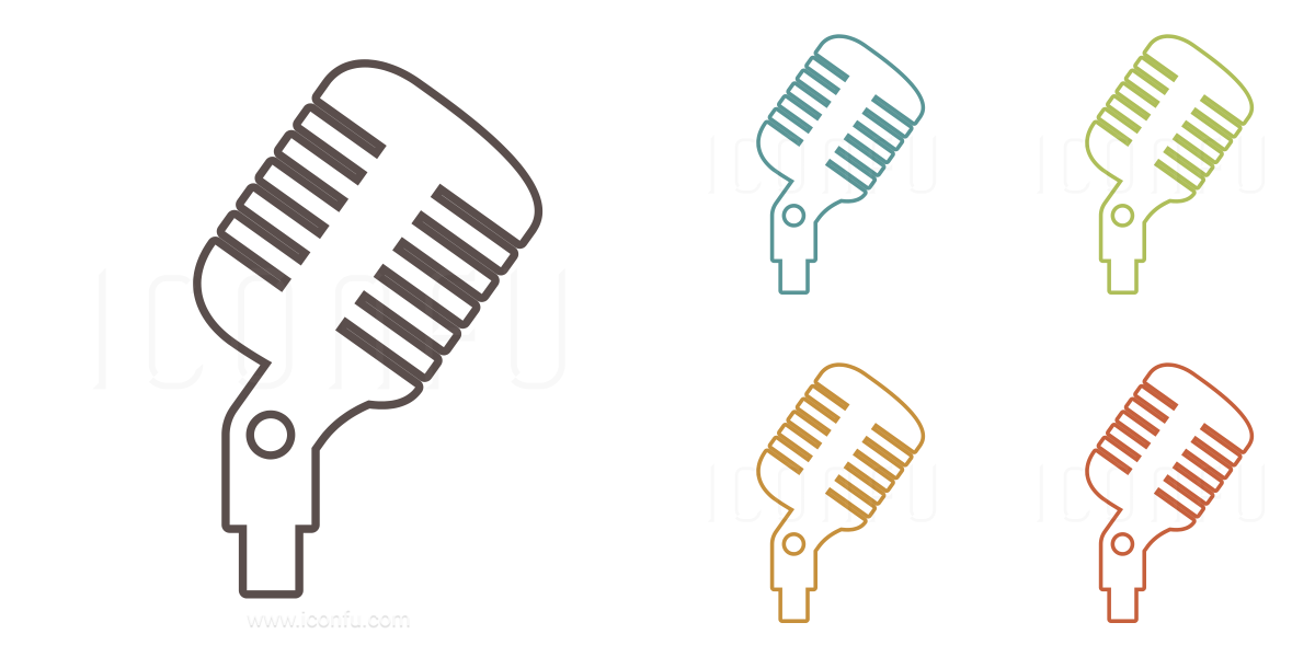 banner library download singing clipart microphone - old school microphone  PNG image with transparent background | TOPpng