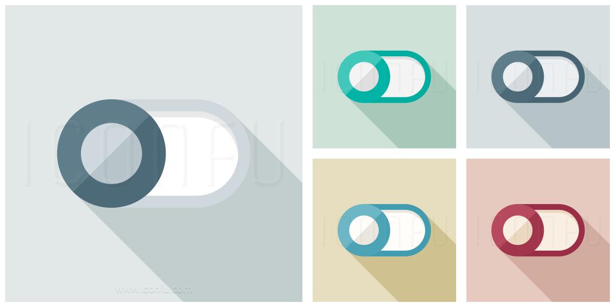 Switch Slider Off Icon