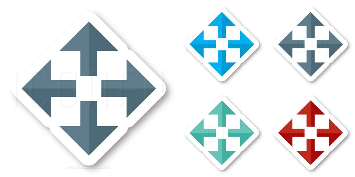 Arrows Spread Icon