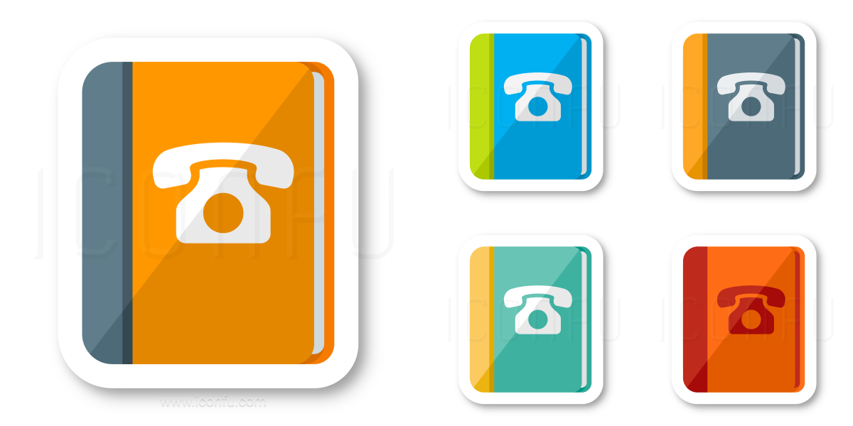 Book Telephone Icon