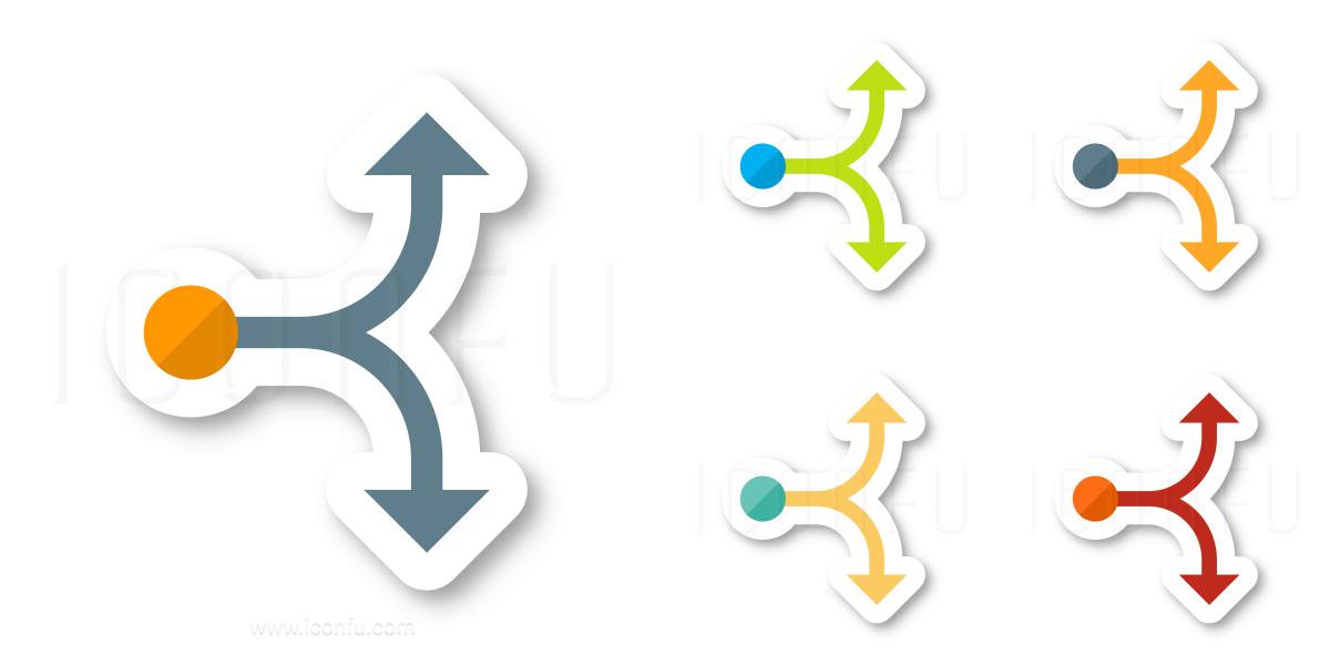 Graph Fork Icon