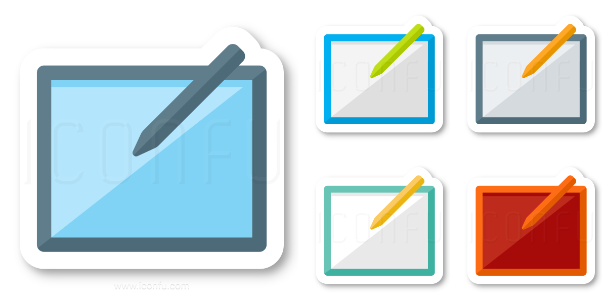 Graphics Tablet Icon