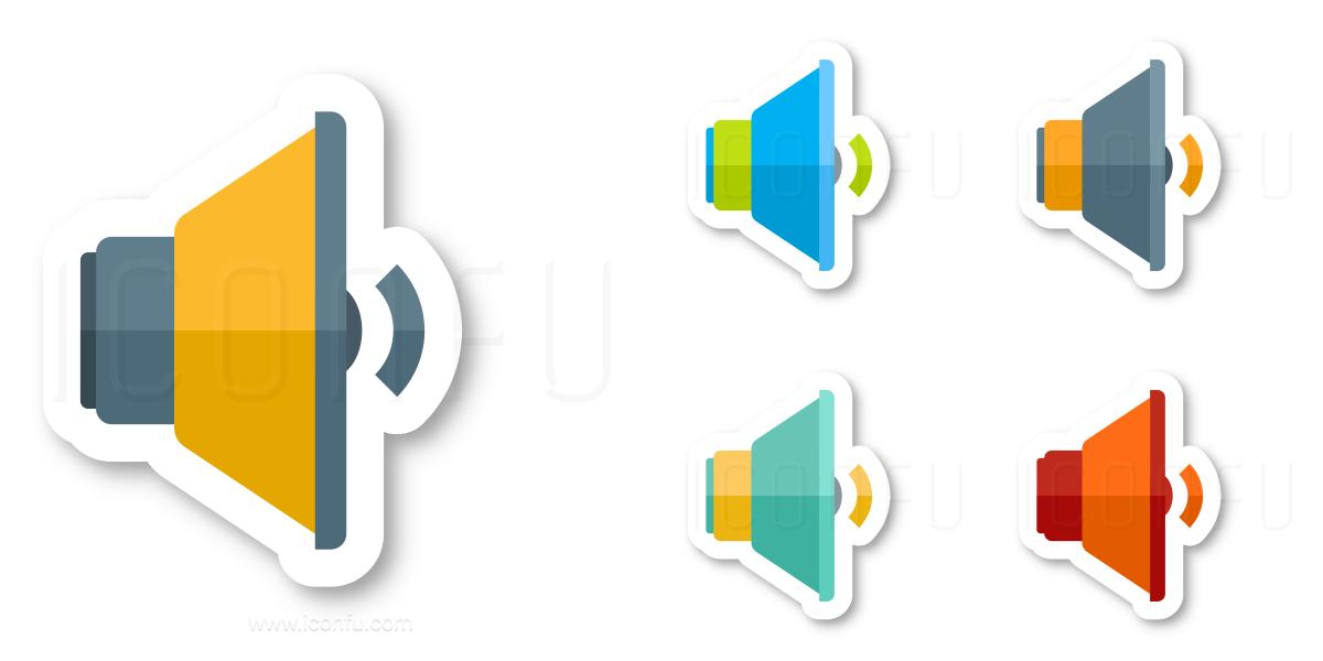 Loudspeaker Volume Two Icon