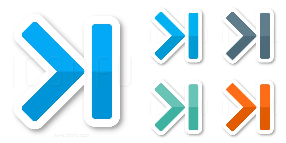Navigate End Icon