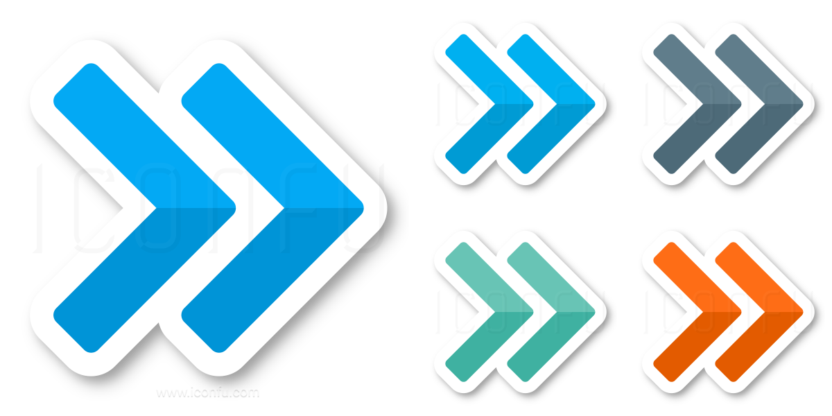Navigate Right Two Icon