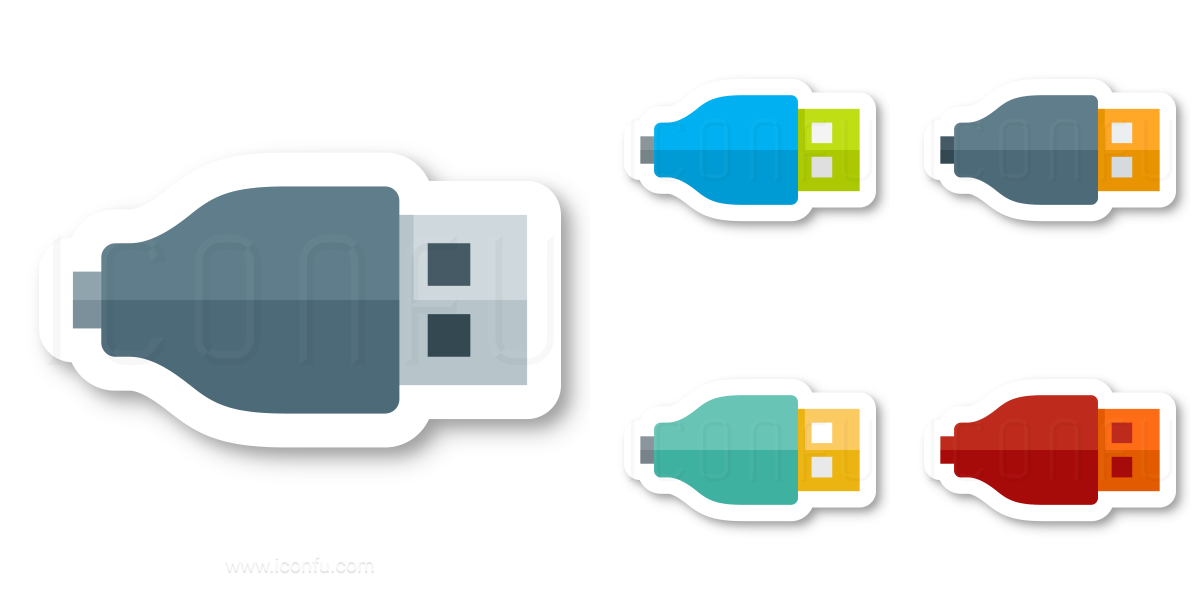 Plug Usb Icon