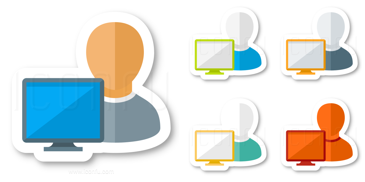 User Monitor Icon