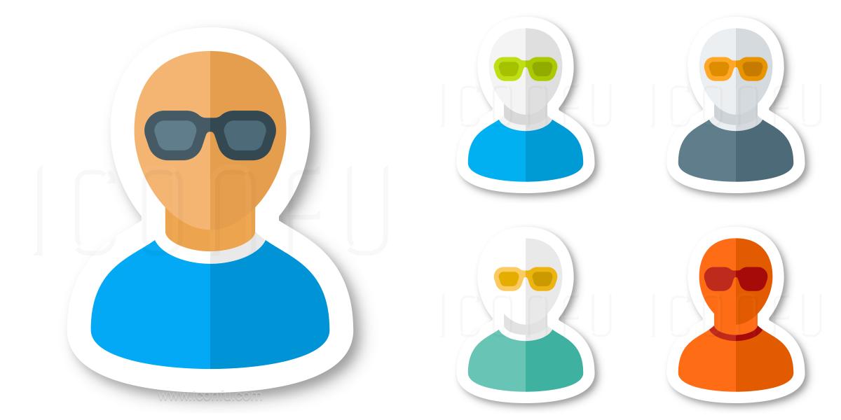 User Sunglasses Icon