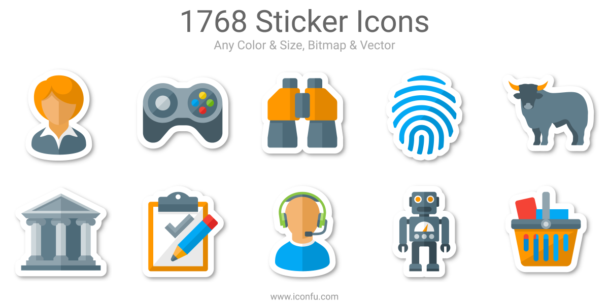 Sticker Icons