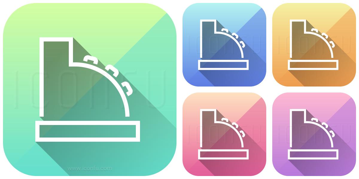 cashier icon - app style
