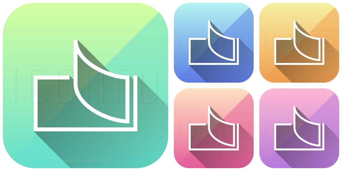 receipt book icon app style iconfu