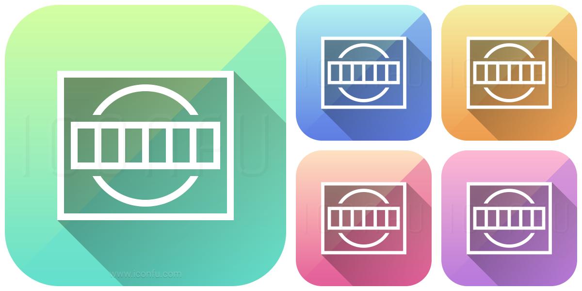 Test Card Icon - App Style - Iconfu