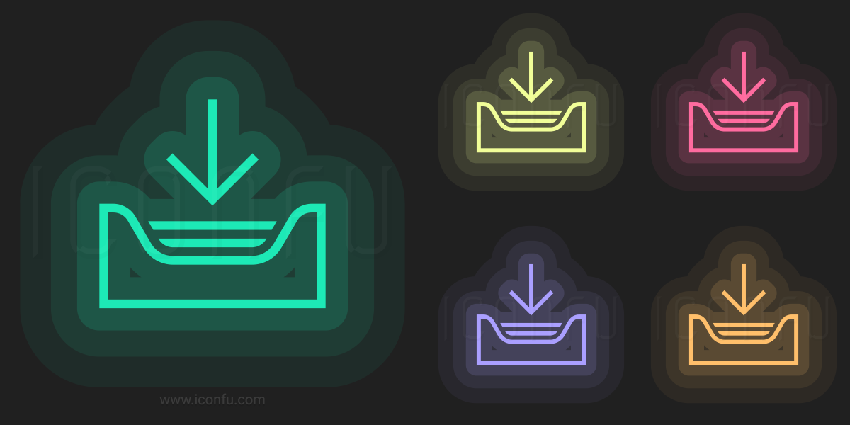 neon icon download