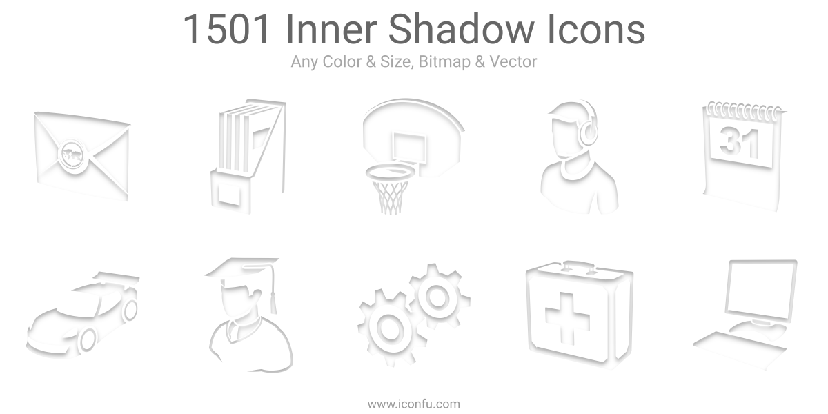 Inner Shadow Icons