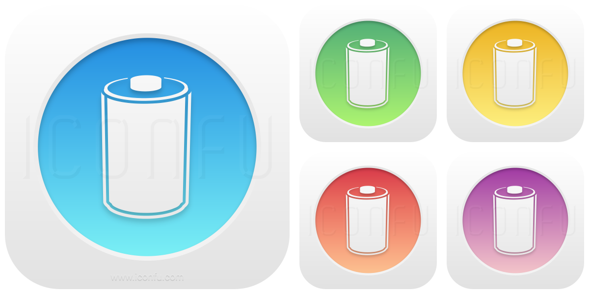Battery 100 100 Icon