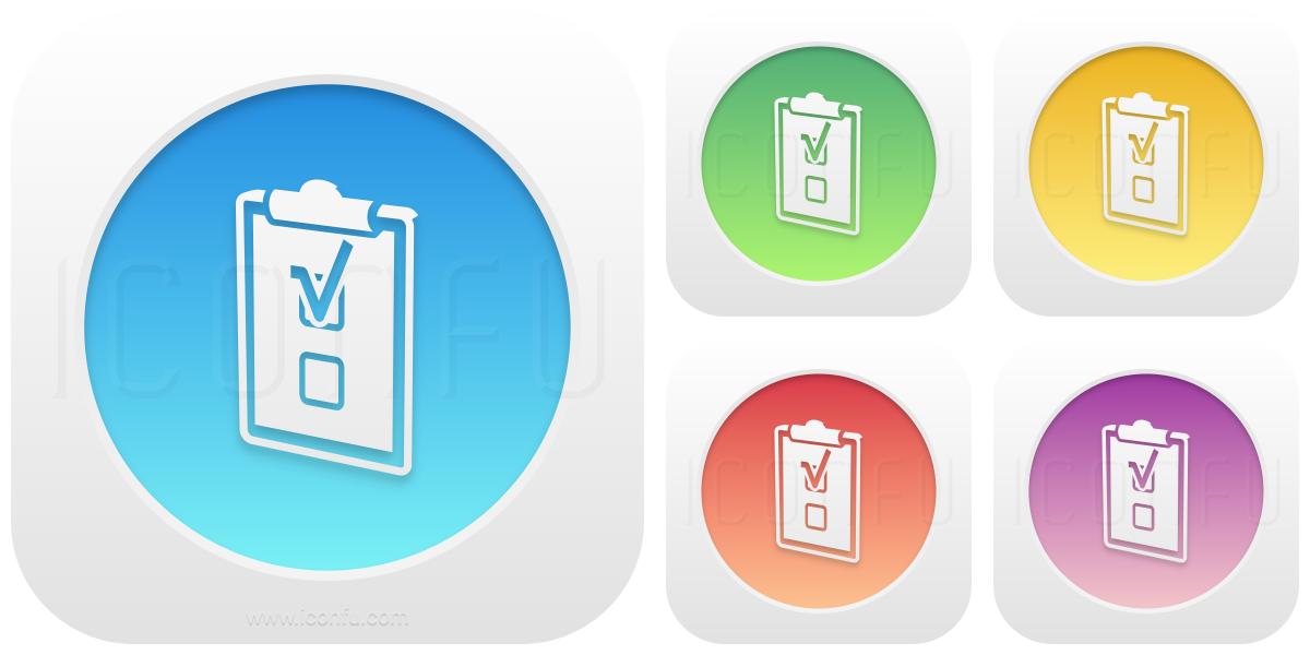 Clipboard Check Icon