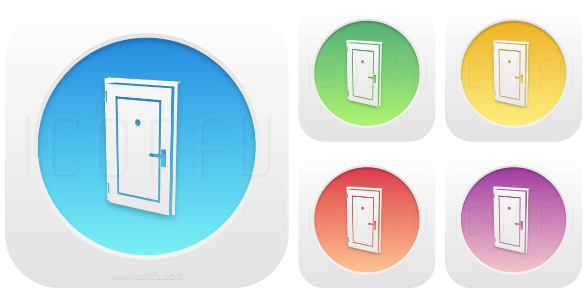 Door Closed Icon