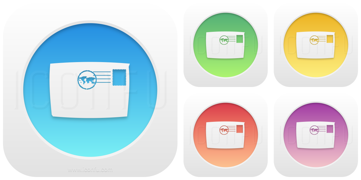 Mail Front Icon