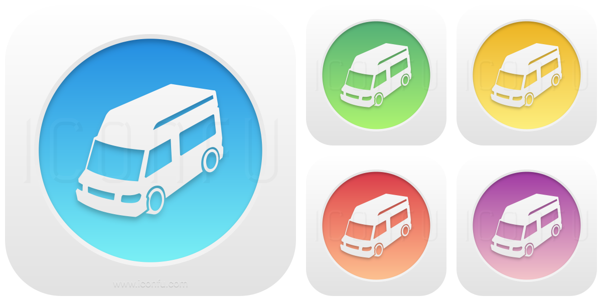 Mobile Home Icon