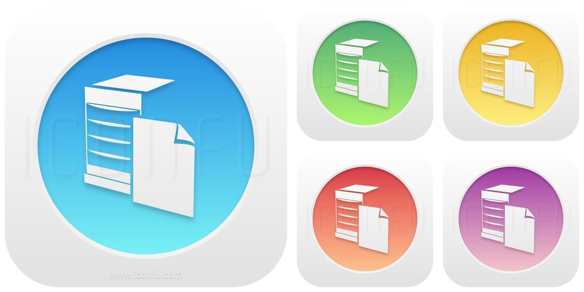 Server Document Icon