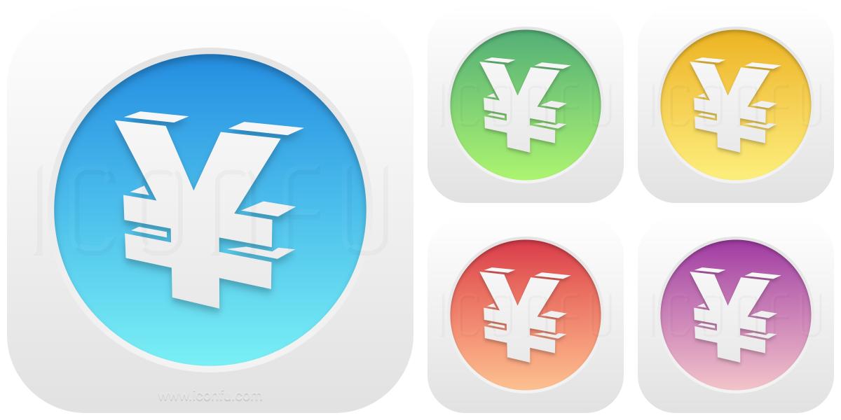 Symbol Yen Icon