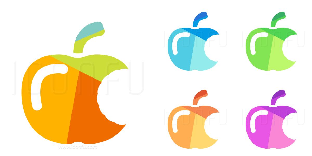 Apple Bite Icon