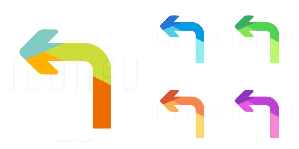 Arrow Turn Left Icon