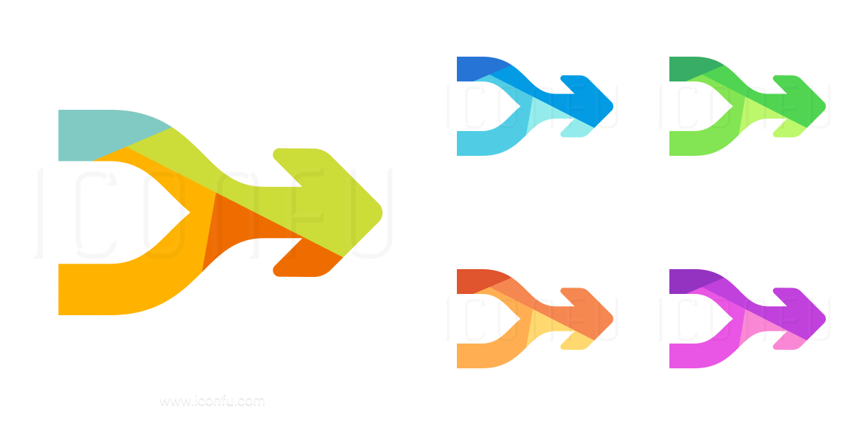 Arrows Merge Icon
