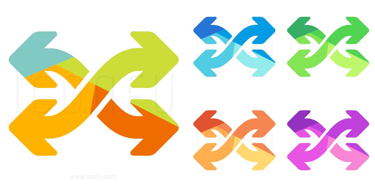 Arrows Mix Icon