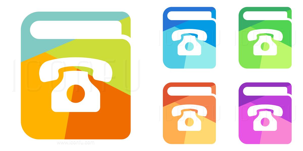 Book Telephone Icon