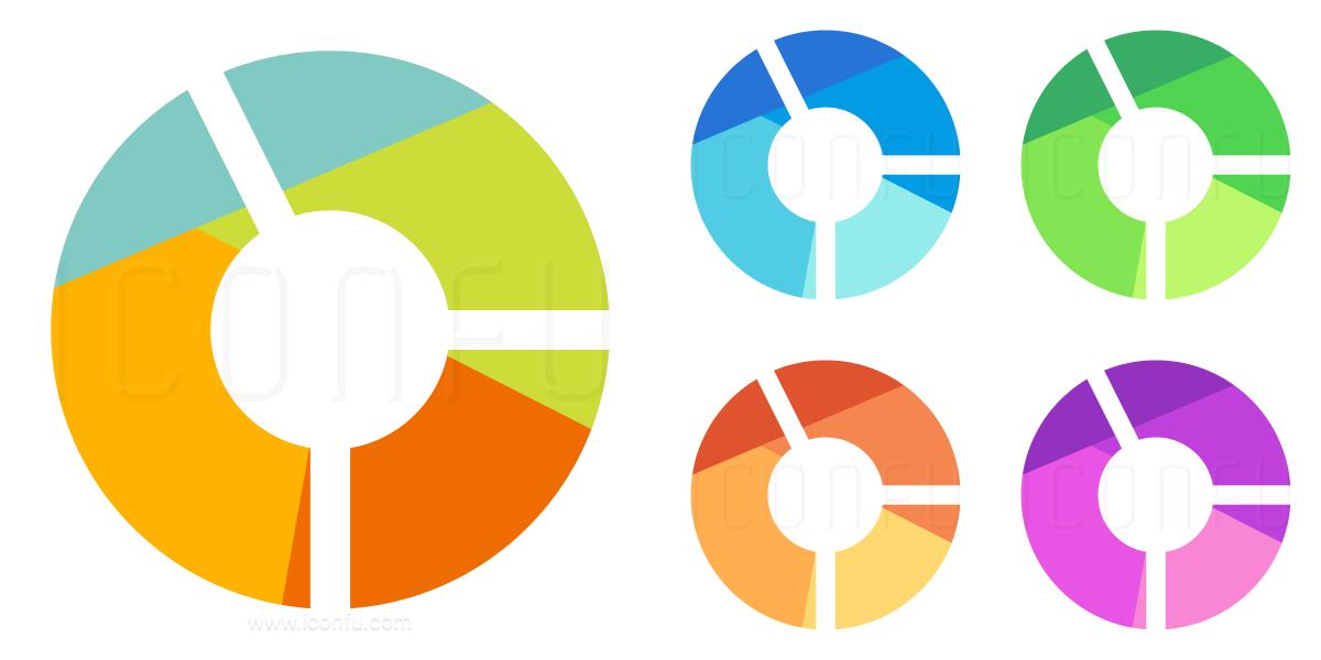 Chart Donut Icon