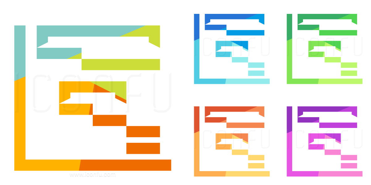 Chart Gantt Icon