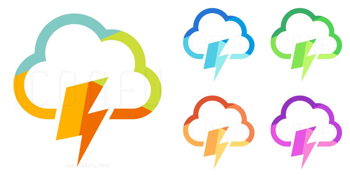 Cloud Flash Icon