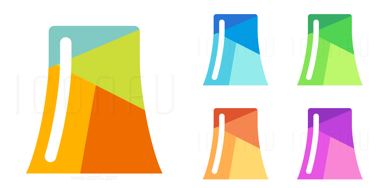 Cooling Tower Icon