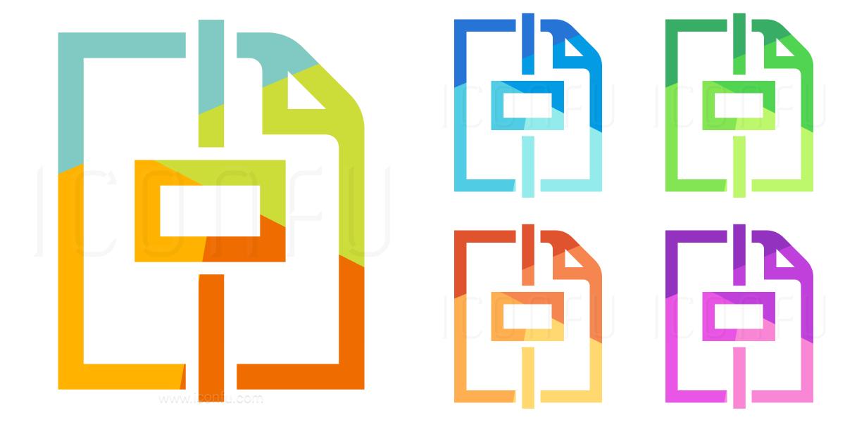 Document Center Horizontal Icon