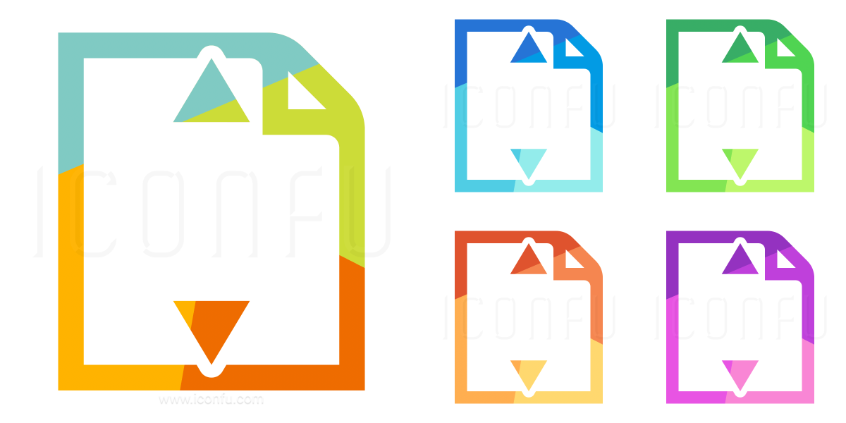 Document Height Icon