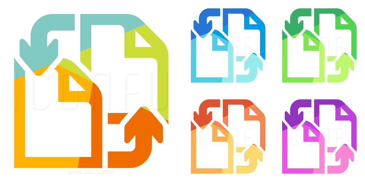 Documents Exchange Icon