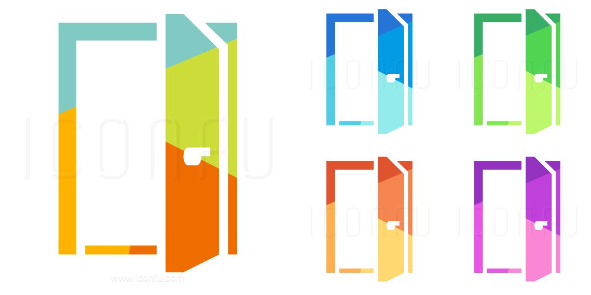 Door Open Icon