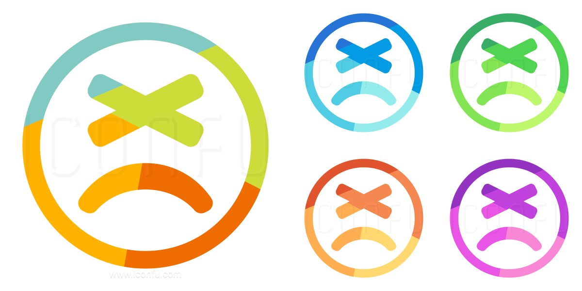 Emoticon Angry Icon