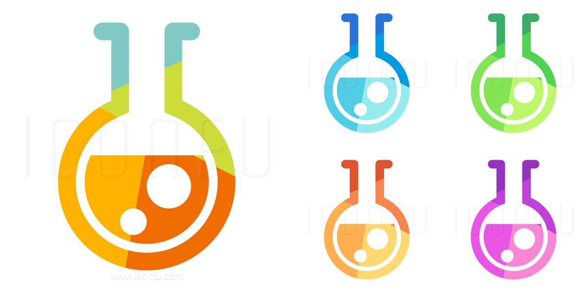 Flask Round Bottom Icon