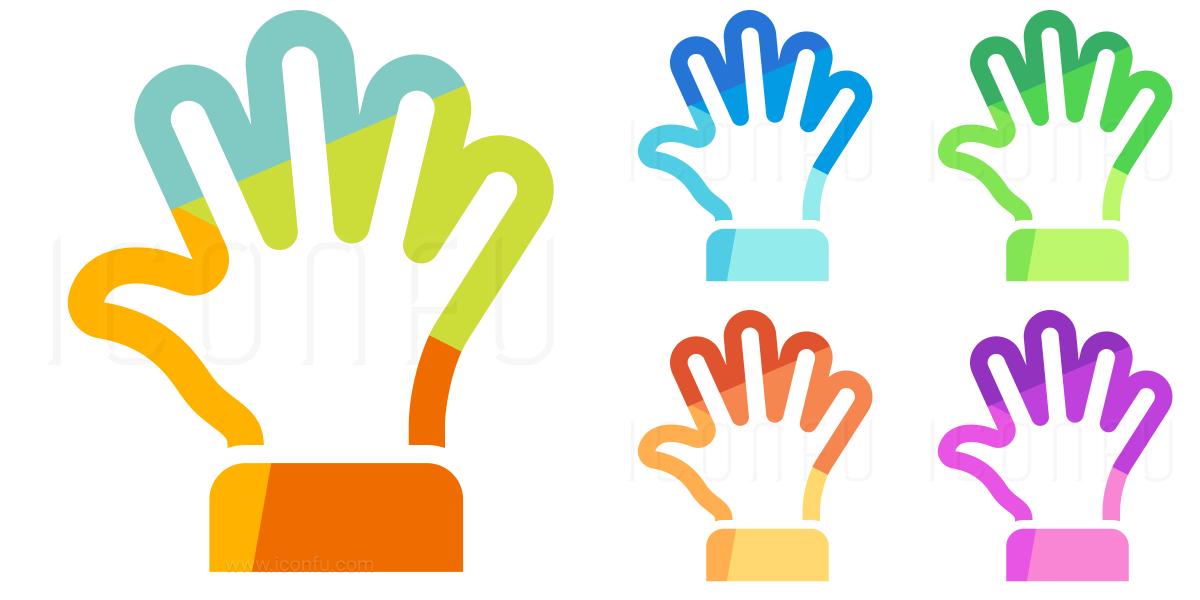 Hand Spread Icon