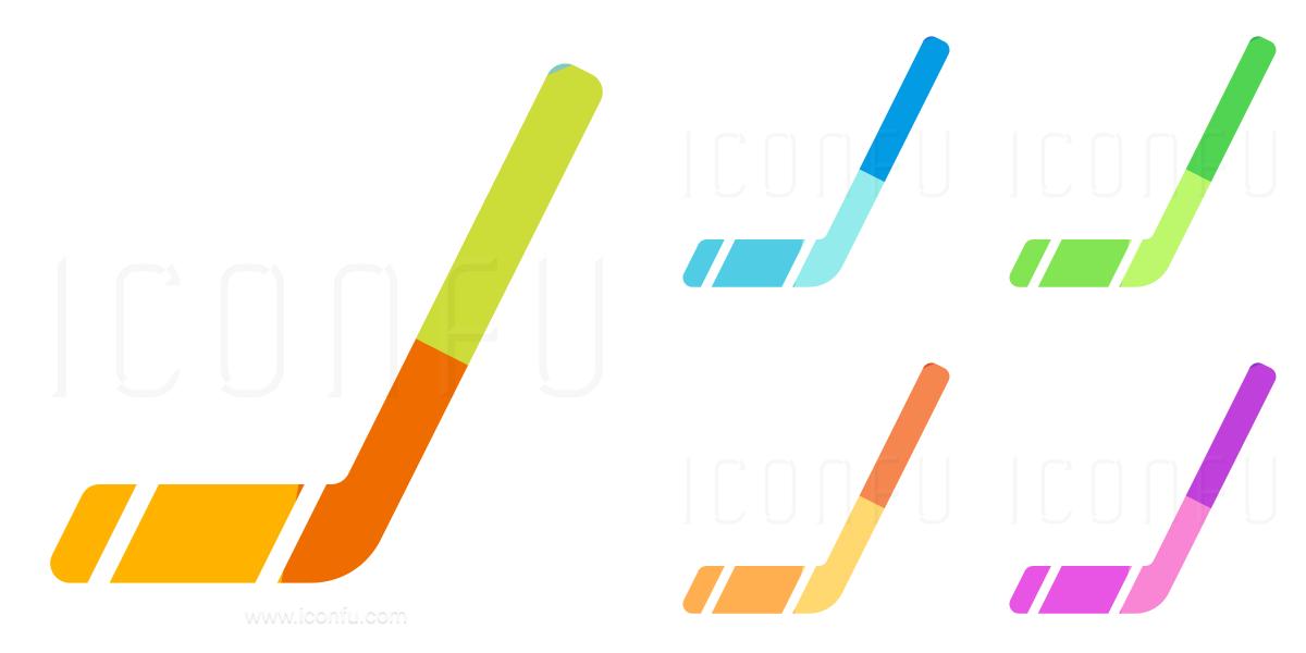Hockey Stick Icon