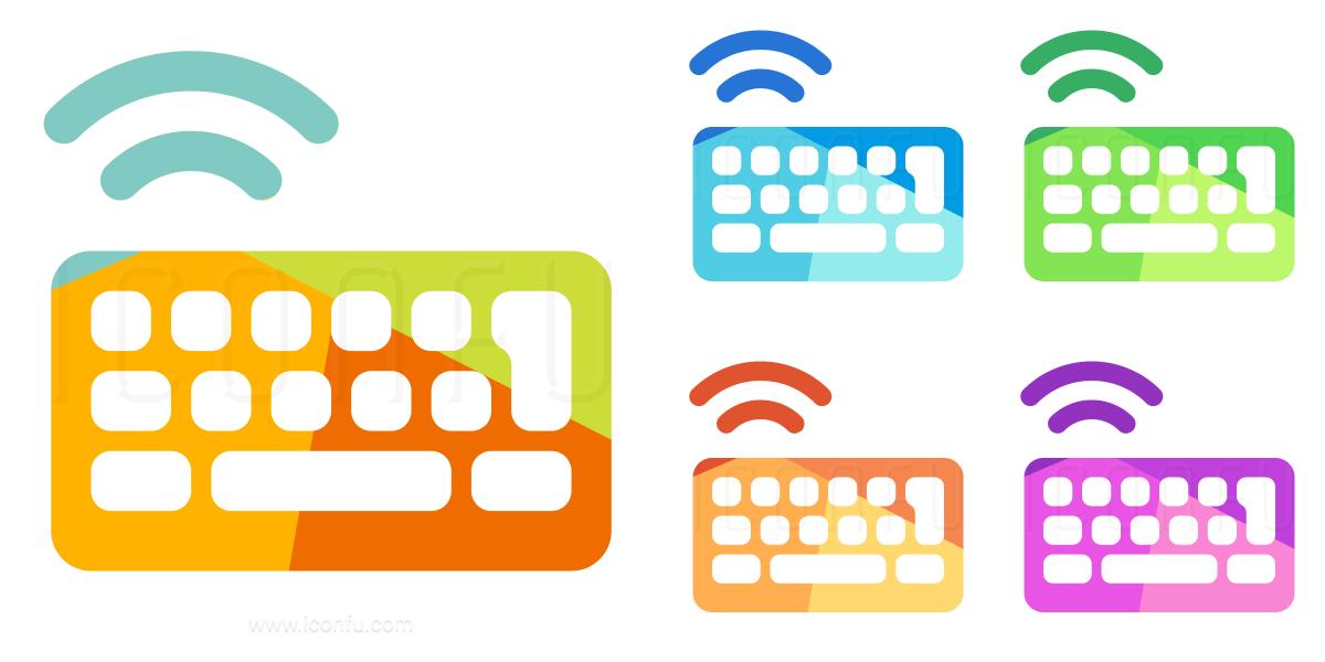 Keyboard Wireless Icon
