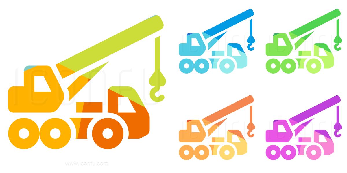 Mobile Crane Icon