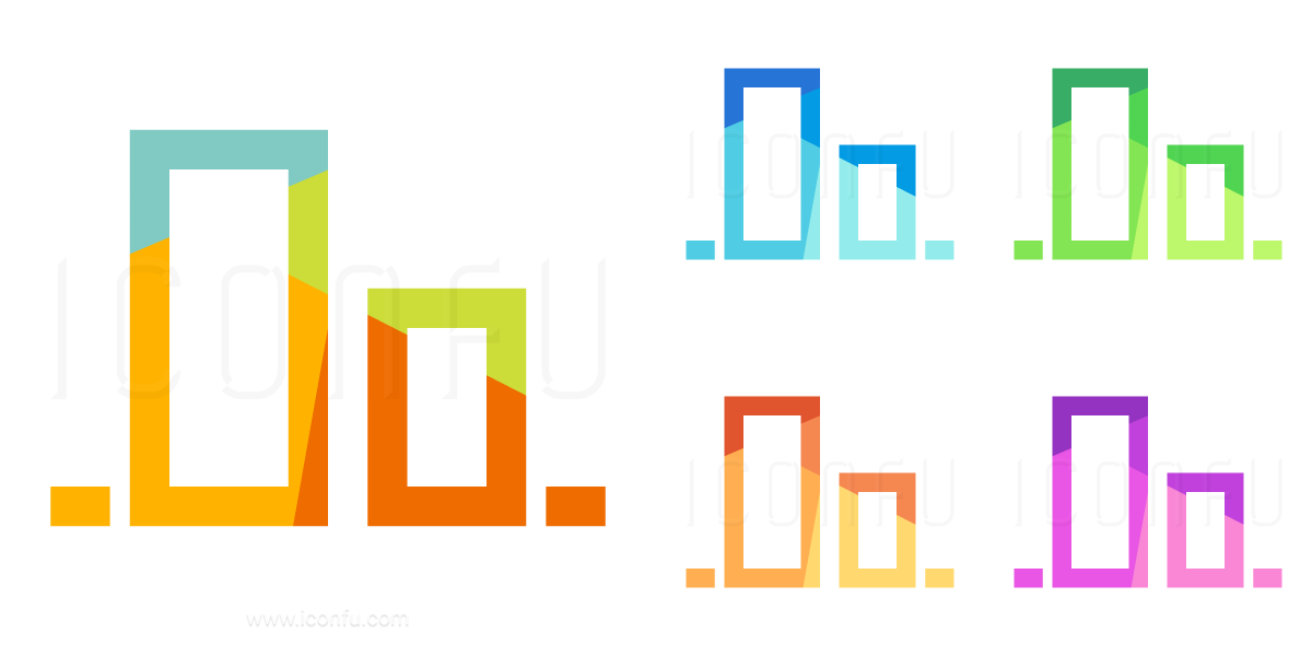 Object Alignment Bottom Icon