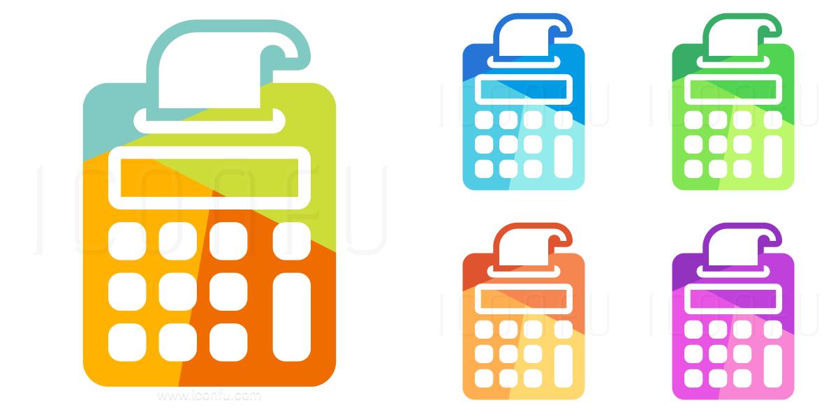 Print Calculator Icon