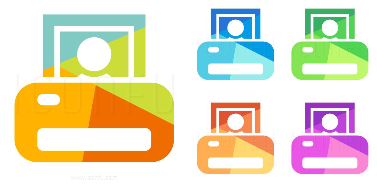 Printer Photo Icon