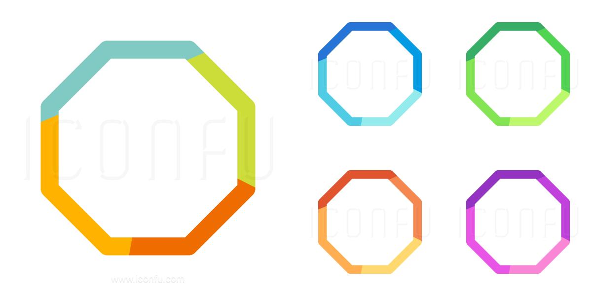 Shape Octagon Icon