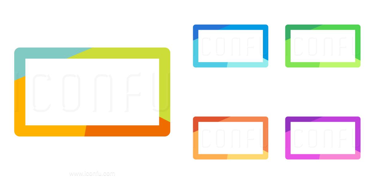 Shape Rectangle Icon